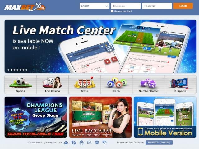 Cara Daftar Maxbet Online Akun Judi Bola Dan Casino